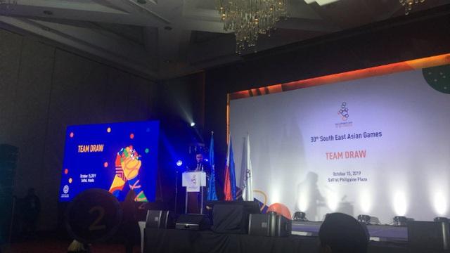 U22 Việt Nam cùng bảng với Thái Lan ở SEA Games 30 - 6