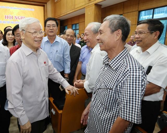 Tổng Bí thư, Chủ tịch nước tiếp xúc cử tri Hà Nội - 2