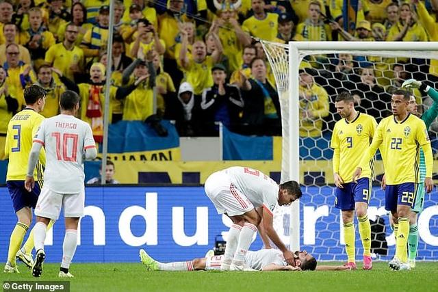 Hòa Thụy Điển, Tây Ban Nha giành vé dự Euro 2020 - 3