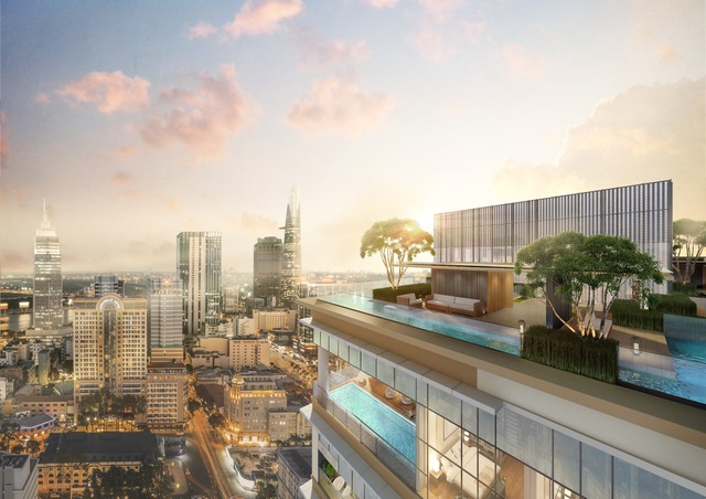 Ấn tượng khu tiện ích sang trọng The Sky Club tại dự án The Marq - 1