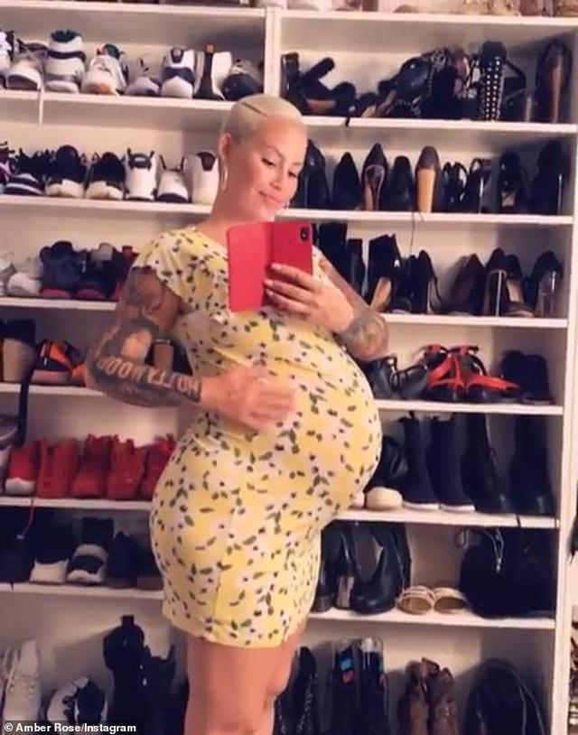 Vũ nữ thoát y Amber Rose đã sinh con thứ 2 - 4
