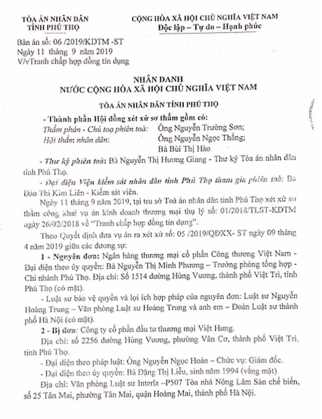 """Vụ thi hành án """"chấn động"""" TP Việt Trì: Bị bắt xử lại, Toà tỉnh Phú Thọ tuyên gì? - 5"""