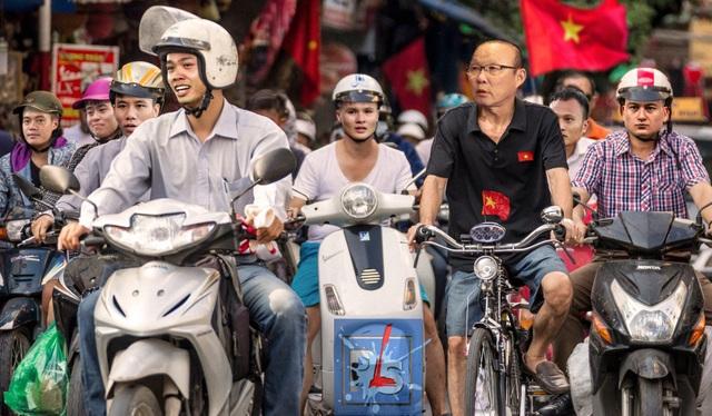 Dân mạng lại chế ảnh hài hước ăn mừng chiến thắng của đội tuyển Việt Nam - 13