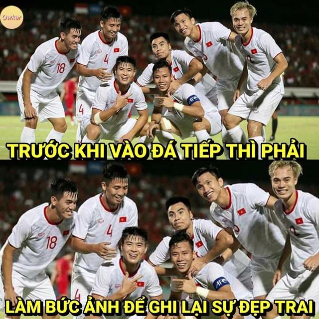 Dân mạng lại chế ảnh hài hước ăn mừng chiến thắng của đội tuyển Việt Nam - 5