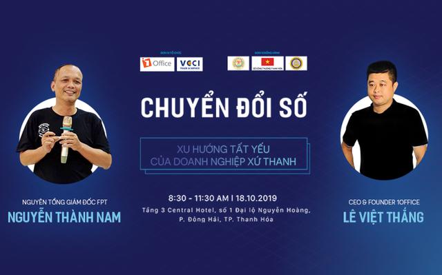 """""""Đầu tàu"""" chuyển đổi số 1Office cập bến Thanh Hoá - 1"""
