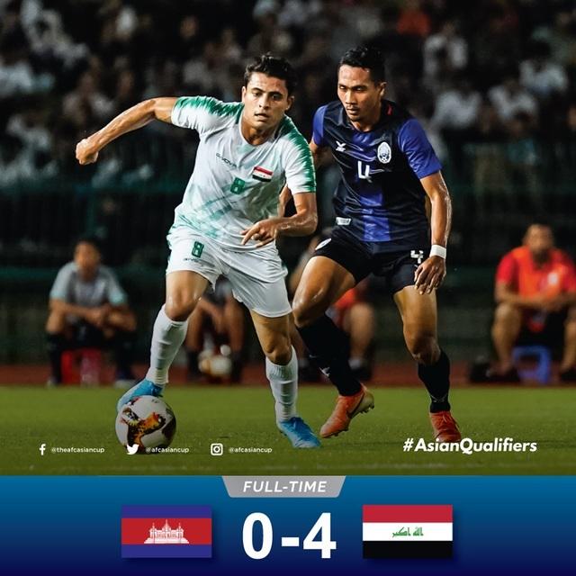Các đội tuyển Đông Nam Á thi đấu như thế nào ở loạt trận ngày 15/10? - 1