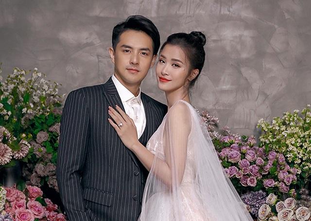 Đông Nhi - Ông Cao Thắng khoe ảnh cưới ngọt ngào - 1