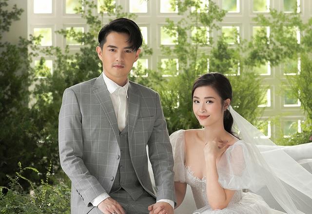 Đông Nhi - Ông Cao Thắng khoe ảnh cưới ngọt ngào - 6