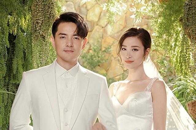 Đông Nhi - Ông Cao Thắng khoe ảnh cưới ngọt ngào - 3