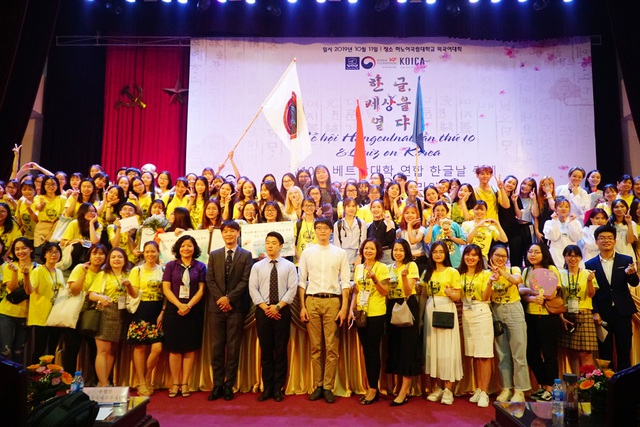 Tưng bừng ngày hội tiếng Hàn Hangeulnal tại Hà Nội - 11