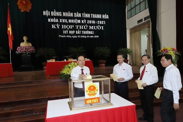 Thanh Hóa họp bất thường bầu Phó Chủ tịch UBND tỉnh - 2