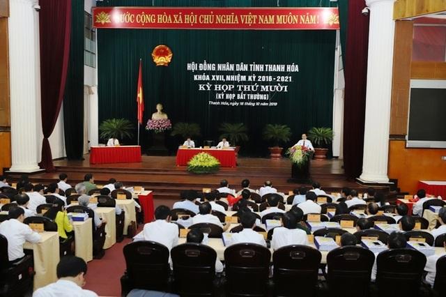 Thanh Hóa họp bất thường bầu Phó Chủ tịch UBND tỉnh - 1