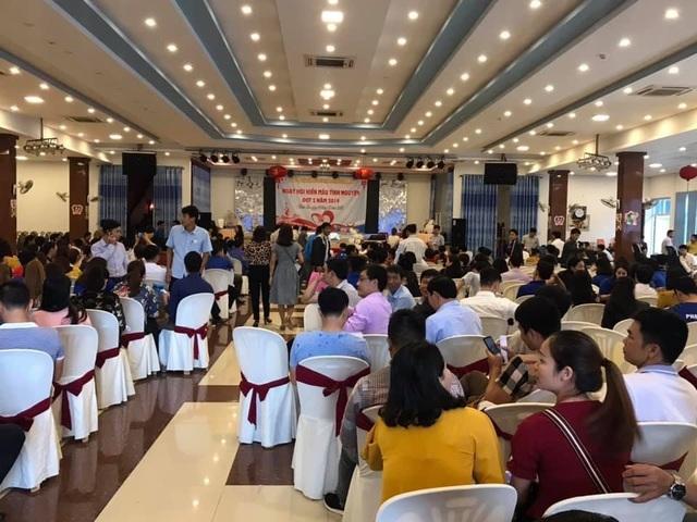 Quảng Bình:  Hơn 600 cán bộ, đoàn viên thanh niên tham gia hiến máu cứu người - 1