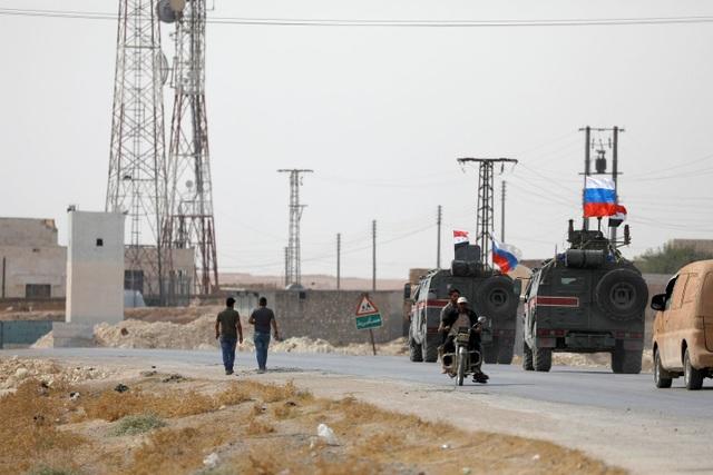 Nga đưa binh sĩ gần biên giới Thổ Nhĩ Kỳ sau khi Mỹ rút quân - 1