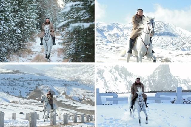 Thông điệp từ màn cưỡi ngựa trắng trên núi thiêng của ông Kim Jong-un - 2
