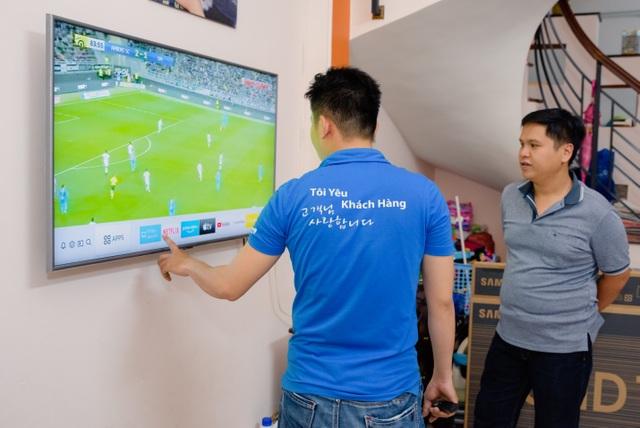 Chất lượng và công nghệ sáng tạo thu hút người dùng chọn TV Samsung - Ảnh minh hoạ 3