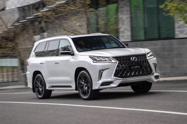 Lexus gây xôn xao vì đăng ký bản quyền tên gọi LX600 - 1