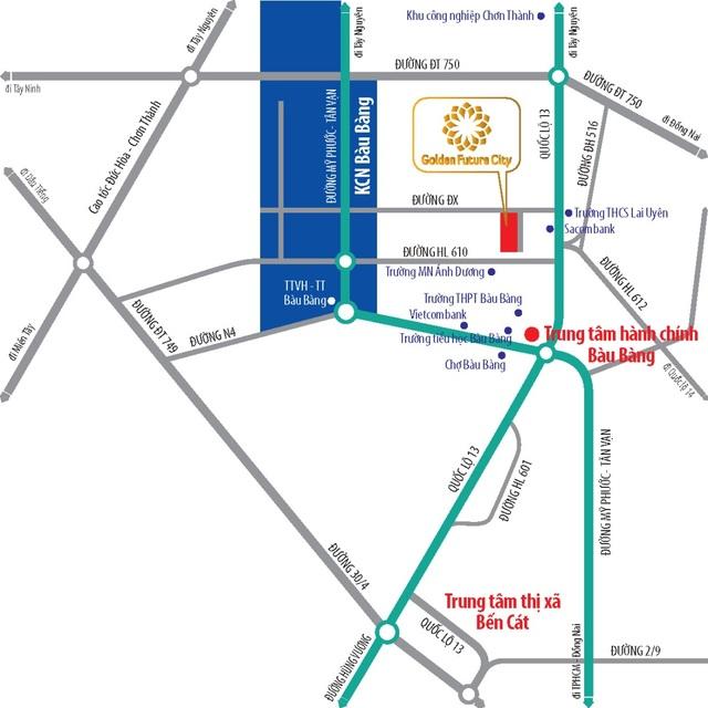 Golden Future City khuấy động thị trường bất động sản Bàu Bàng - 2