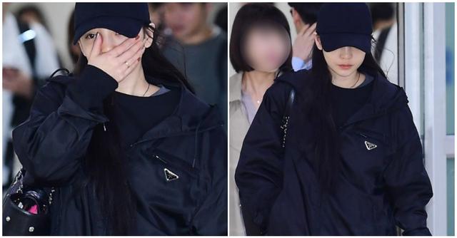Goo Hara nức nở tại sân bay khi về Hàn tiễn đưa Sulli - 1