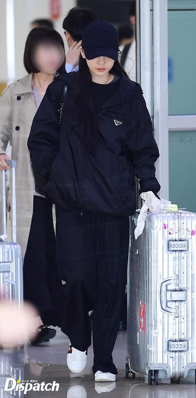 Goo Hara nức nở tại sân bay khi về Hàn tiễn đưa Sulli - 3