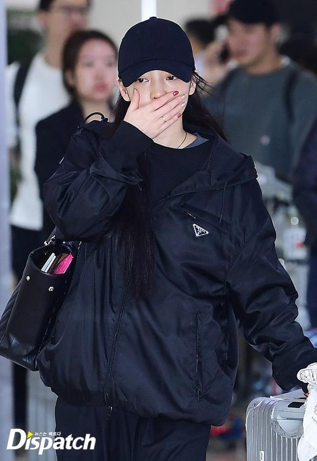 Goo Hara nức nở tại sân bay khi về Hàn tiễn đưa Sulli - 2