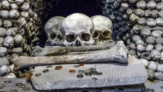 """Nhà thờ xương người cấm chụp selfie vì sợ những hộp sọ bị """"cưỡng hôn"""" - 4"""