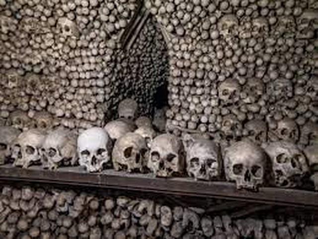 """Nhà thờ xương người cấm chụp selfie vì sợ những hộp sọ bị """"cưỡng hôn"""" - 6"""