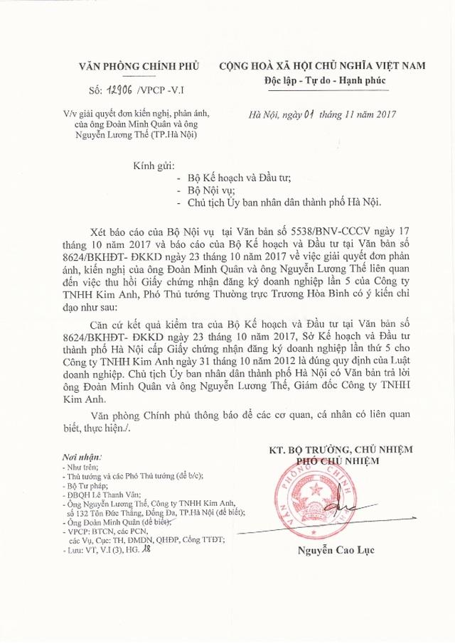 Phó Thủ tướng kết luận, toà án đã xử nhưng Hà Nội vẫn chỉ đạo giải quyết (!?) - 2