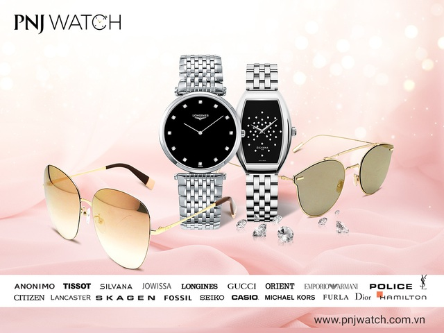 PNJ Watch: Nhà phân phối của gần 50 thương hiệu đồng hồ, mắt kính - 2