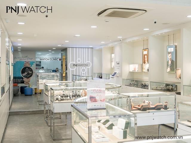 PNJ Watch: Nhà phân phối của gần 50 thương hiệu đồng hồ, mắt kính - 3