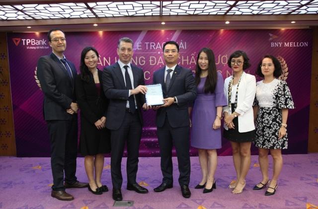 TPBank nhận giải thưởng Chất lượng thanh toán quốc tế xuất sắc - 1