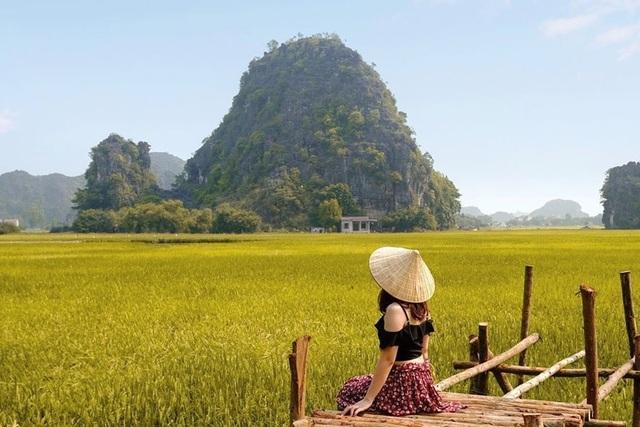 Sen nở rộ, lúa trải vàng ở thánh địa sống ảo miền Bắc - 8