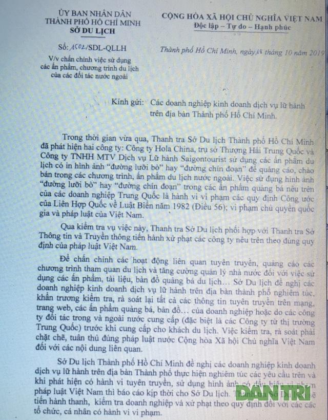 """TPHCM rà soát lại các ấn phẩm du lịch sau vụ """"đường lưỡi bò"""" - 3"""