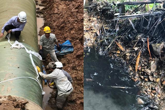 Viwasupco: Cấp nước sinh hoạt bẩn cho dân và 21 lần vỡ ống sông Đà - 1