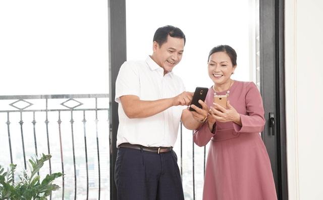 Điện thoại thông minh dành cho người già phá vỡ mọi rào cản về thế hệ - 1