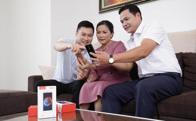 Điện thoại thông minh dành cho người già phá vỡ mọi rào cản về thế hệ - 5