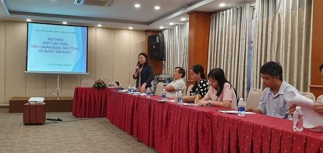 Dự thảo Tiêu chuẩn Việt Nam về nước giải khát: Nhiều băn khoăn - 1