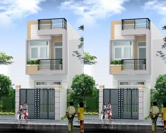 Những mẫu nhà hai tầng 500 triệu đồng hớp hồn vợ chồng trẻ - 5