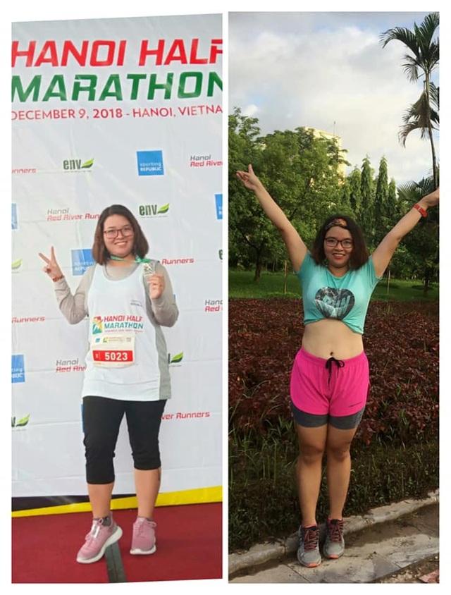 Người phụ nữ và hành trình giảm hơn 5kg, 9cm vòng eo đáng nể phục trong 1 tháng - 1