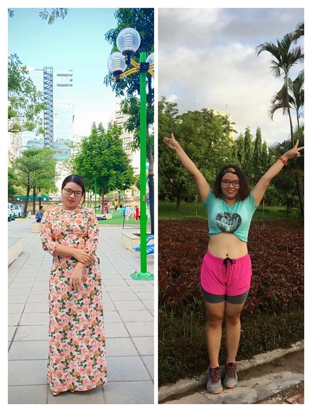Người phụ nữ và hành trình giảm hơn 5kg, 9cm vòng eo đáng nể phục trong 1 tháng - 2