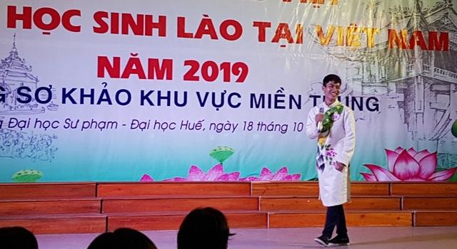 Thú vị xem lưu học sinh Lào hùng biện tiếng Việt - 5