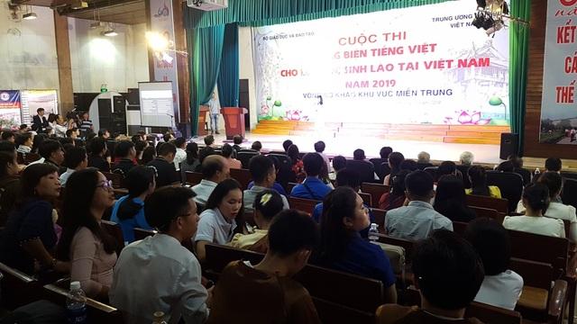 Thú vị xem lưu học sinh Lào hùng biện tiếng Việt - 3