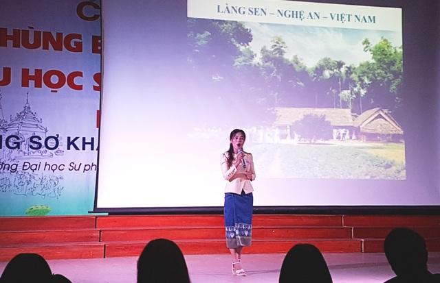 Thú vị xem lưu học sinh Lào hùng biện tiếng Việt - 4