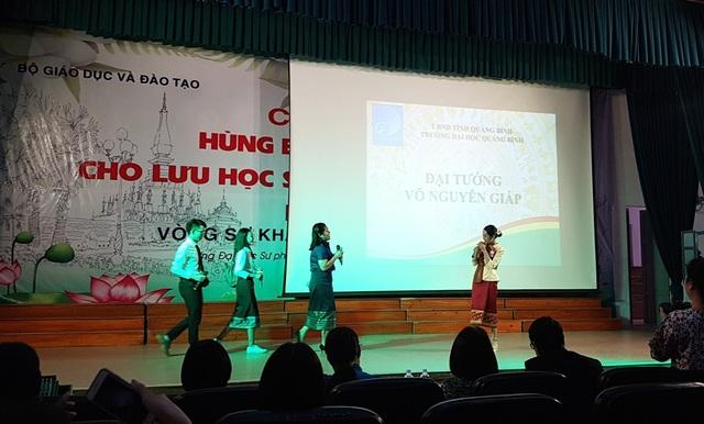 Thú vị xem lưu học sinh Lào hùng biện tiếng Việt - 1
