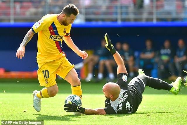 """Messi, Suarez, Griezmann cùng lập công, Barcelona đại thắng """"3 sao"""" - 7"""