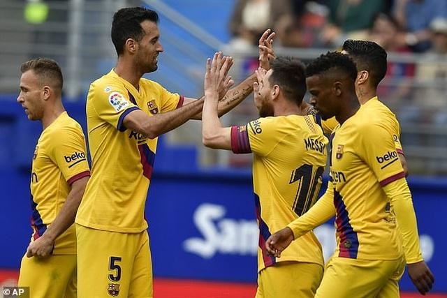 """Messi, Suarez, Griezmann cùng lập công, Barcelona đại thắng """"3 sao"""" - 9"""