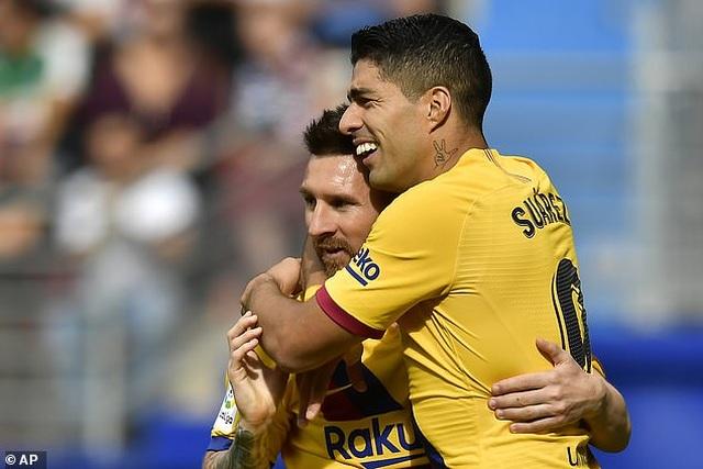 """Messi, Suarez, Griezmann cùng lập công, Barcelona đại thắng """"3 sao"""" - 3"""