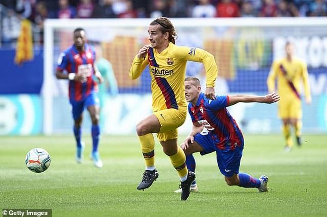 """Messi, Suarez, Griezmann cùng lập công, Barcelona đại thắng """"3 sao"""" - 1"""