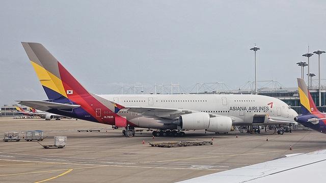Hành khách hoảng hốt chứng kiến động cơ máy bay Hàn Quốc bốc cháy ngùn ngụt - 1
