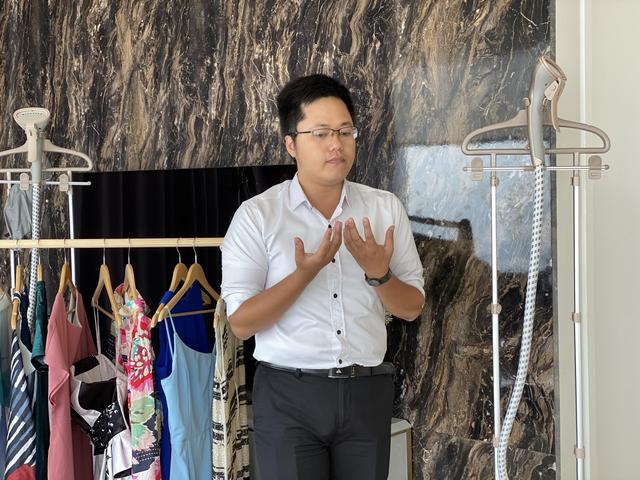 Bàn ủi hơi nước đứng thông minh giá dưới 4 triệu đồng ra mắt tại Việt Nam - 1